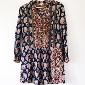 Anthropologie Large Tiny Paquerette Shirt Dress